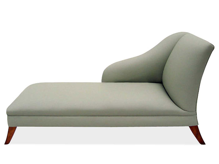 Chaiselongue landhaus  Chaise Longue Beauvoir - Samt | Chaise Longues | VON WILMOWSKY®