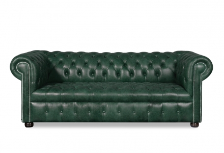 VON WILMOWSKY HERITAGE Chesterfield Garnitur Bingley: Sofa