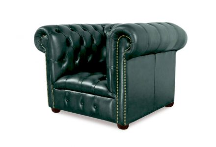 VON WILMOWSKY HERITAGE Chesterfield Garnitur Bingley: Sessel