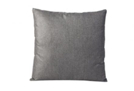 CONMOTO Couchkissen Velours Melour Grey