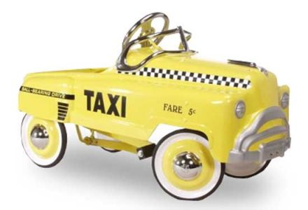 VON WILMOWSKY SELECTION Lil' yellow cab Tretauto