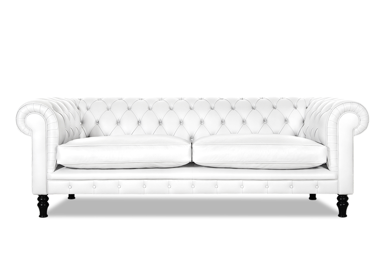 Ledersofa weiß  Chesterfield Sofa weiss | Weisse Couch Countess aus England
