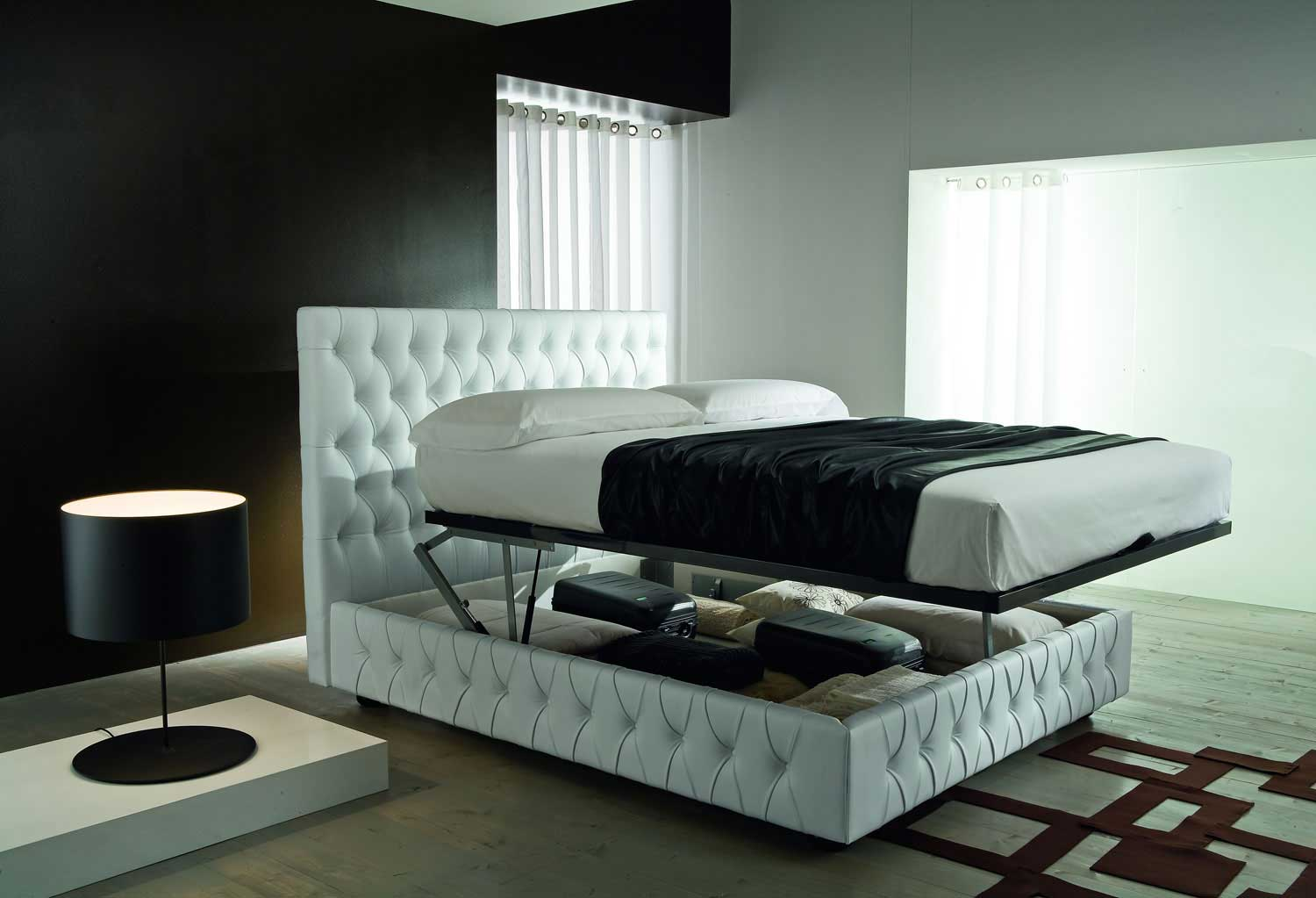 au ergew hnliche betten mit licht neuesten. Black Bedroom Furniture Sets. Home Design Ideas