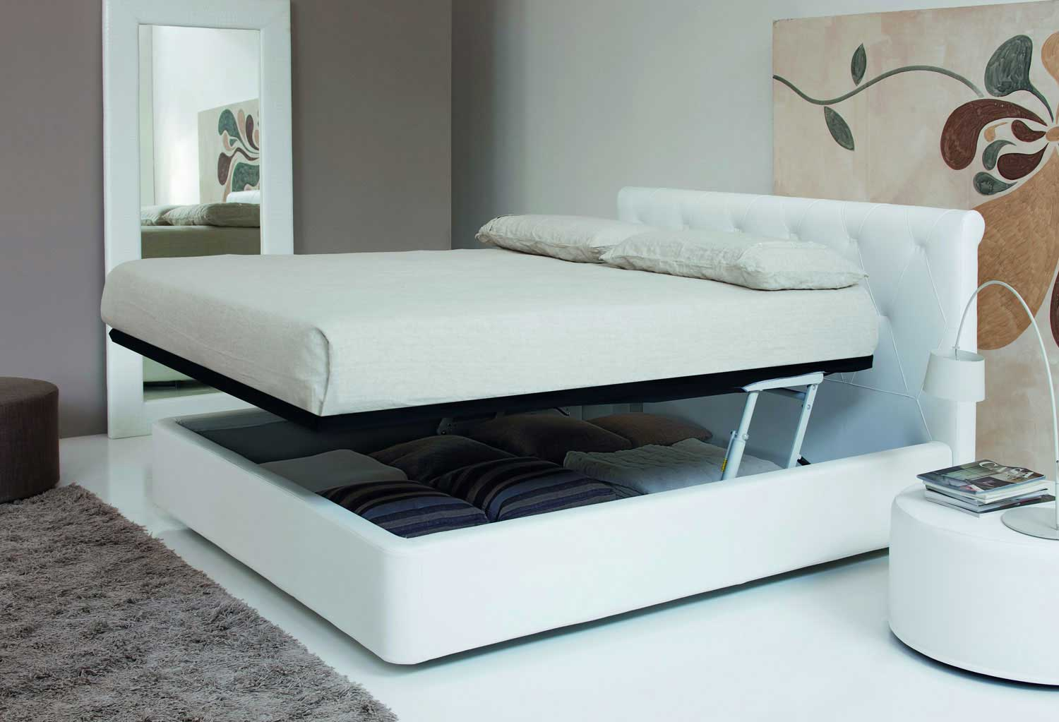 moderne doppelbett ideen 36 designer betten markanten. Black Bedroom Furniture Sets. Home Design Ideas