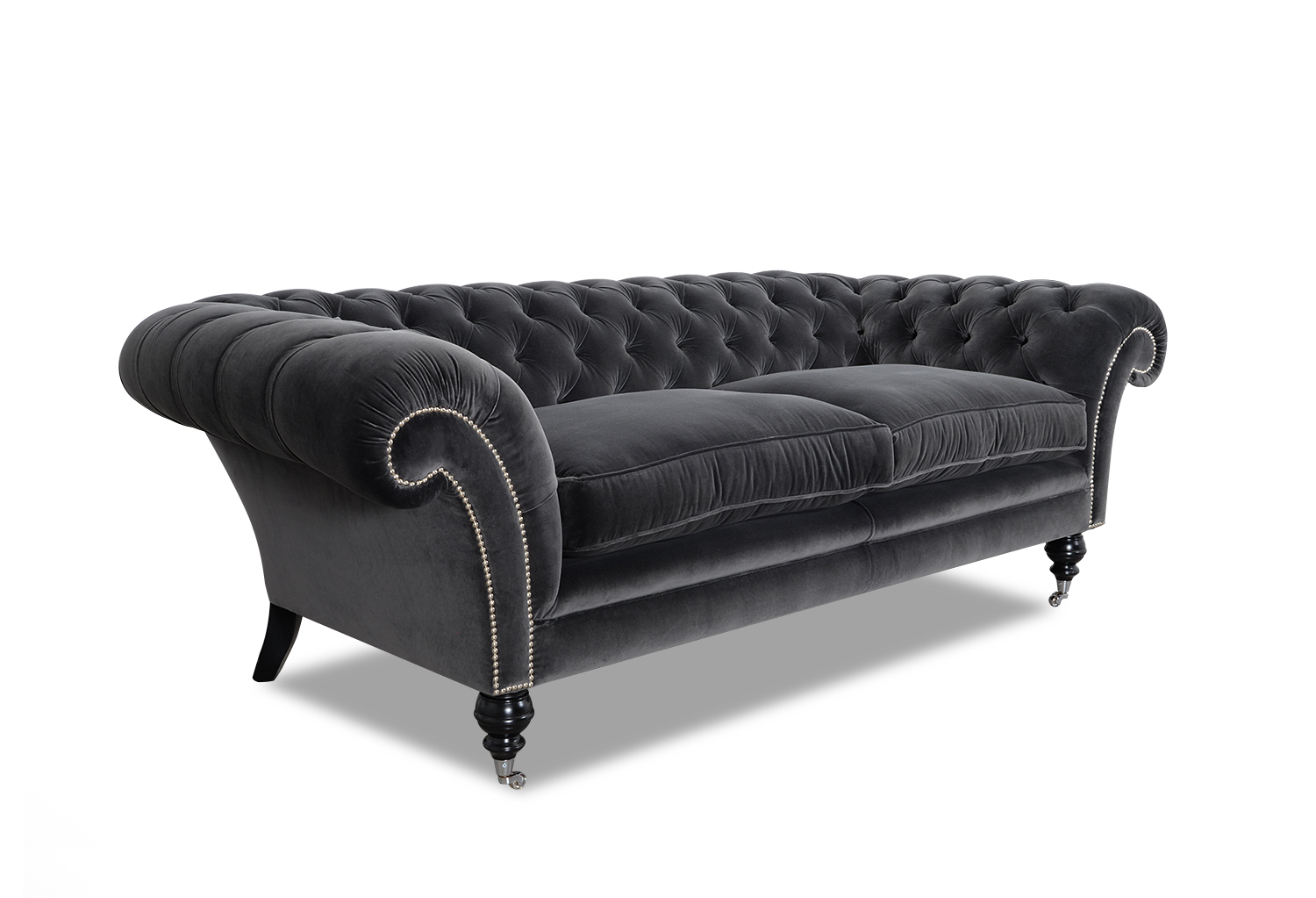 chesterfield sofa stoff. Black Bedroom Furniture Sets. Home Design Ideas