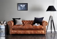 Chesterfield Garnitur Brighton: Sofa Bild 98