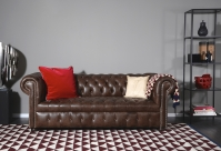 Chesterfield Garnitur Bingley: Sofa Bild 98