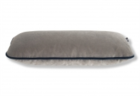 Sofa-Dekokissen 50x20 in Senja Light Grey mit Kontrast-Keder