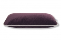 Sofa-Dekokissen 50x20 in Senja Bordo mit Keder Senja Light Grey
