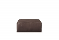 Capara Designer-Hocker in Leder