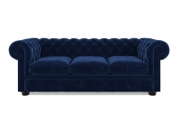 Chesterfield Samtsofa Brighton