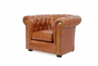 Maxwell Chesterfield Leder-Clubsessel