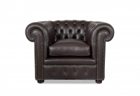 Devon Chesterfield Leder-Clubsessel