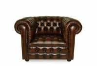 Osmond Chesterfield Leder-Clubsessel