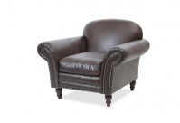 Chesterfield Ledersessel St. Johns