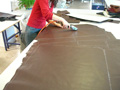Brown Co Chesterfield Sofa englischer Stil Ledersofa
