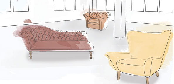 Showroom illustration